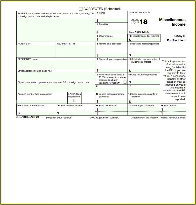 Fake 1099 Forms Online
