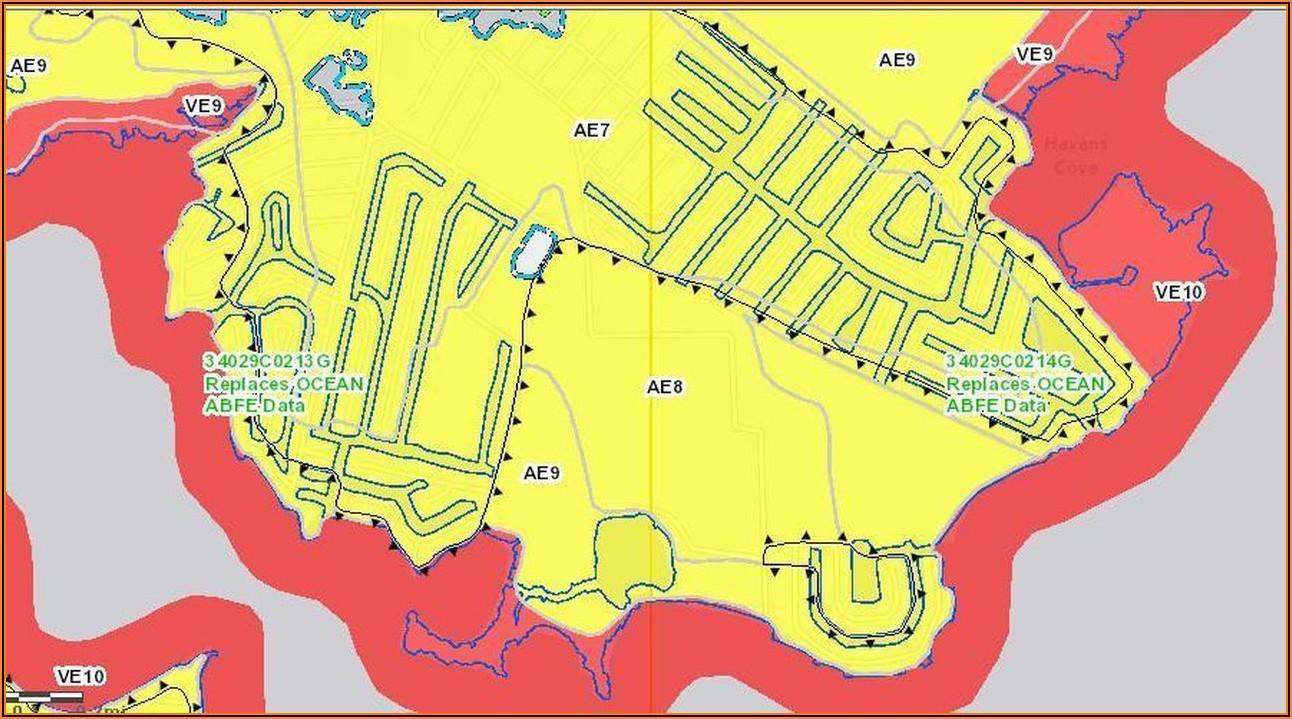 Fema Flood Maps Union Beach Nj