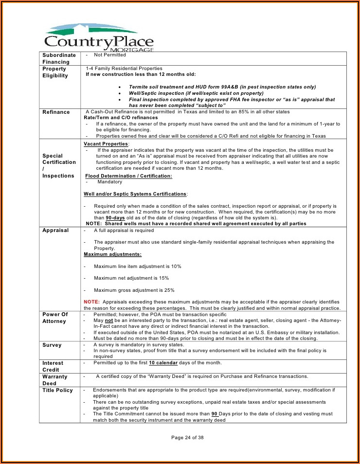 Fha Termite Inspection Form