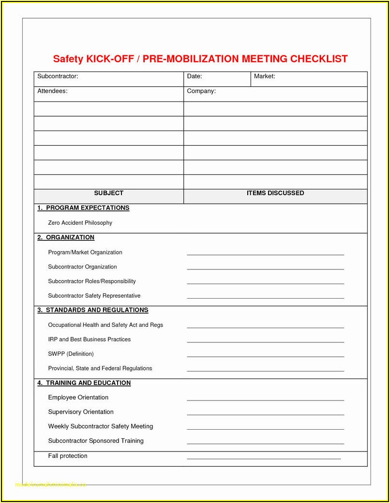 Fire Department Building Inspection Forms