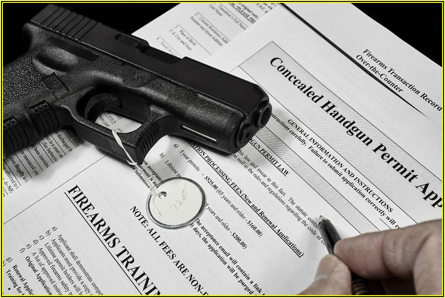 Florida Concealed Carry Permit Form