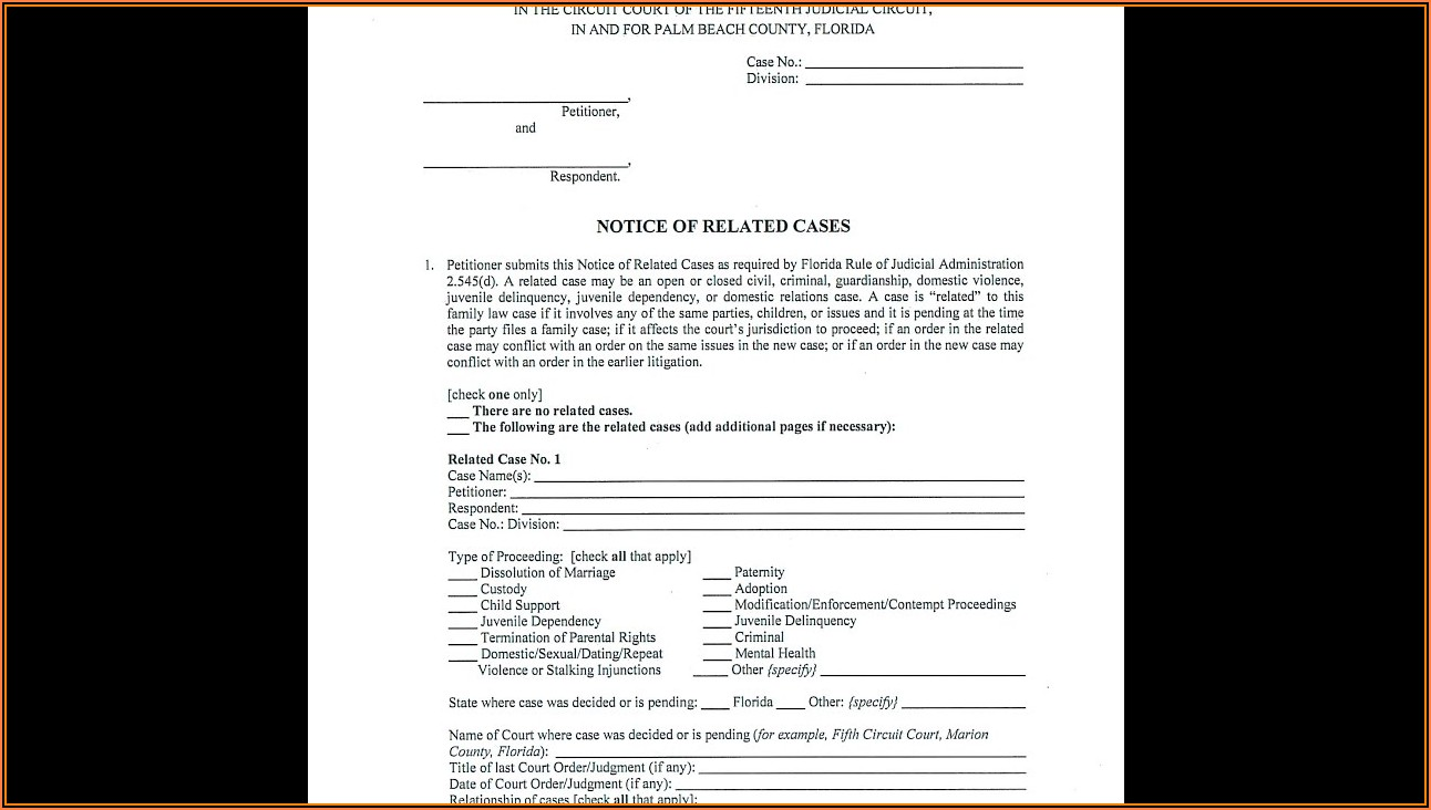 Florida Supreme Court Small Claims Forms