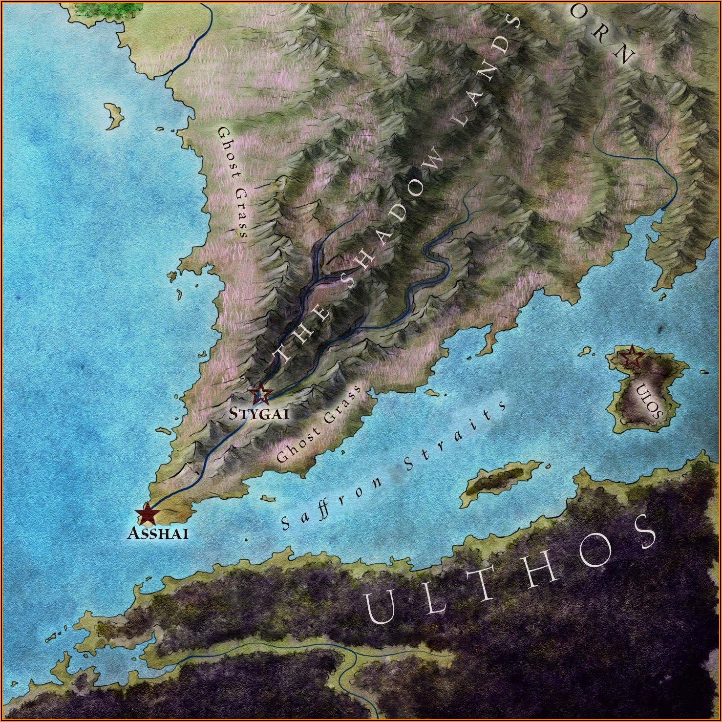 Game Of Thrones Map Shadowlands