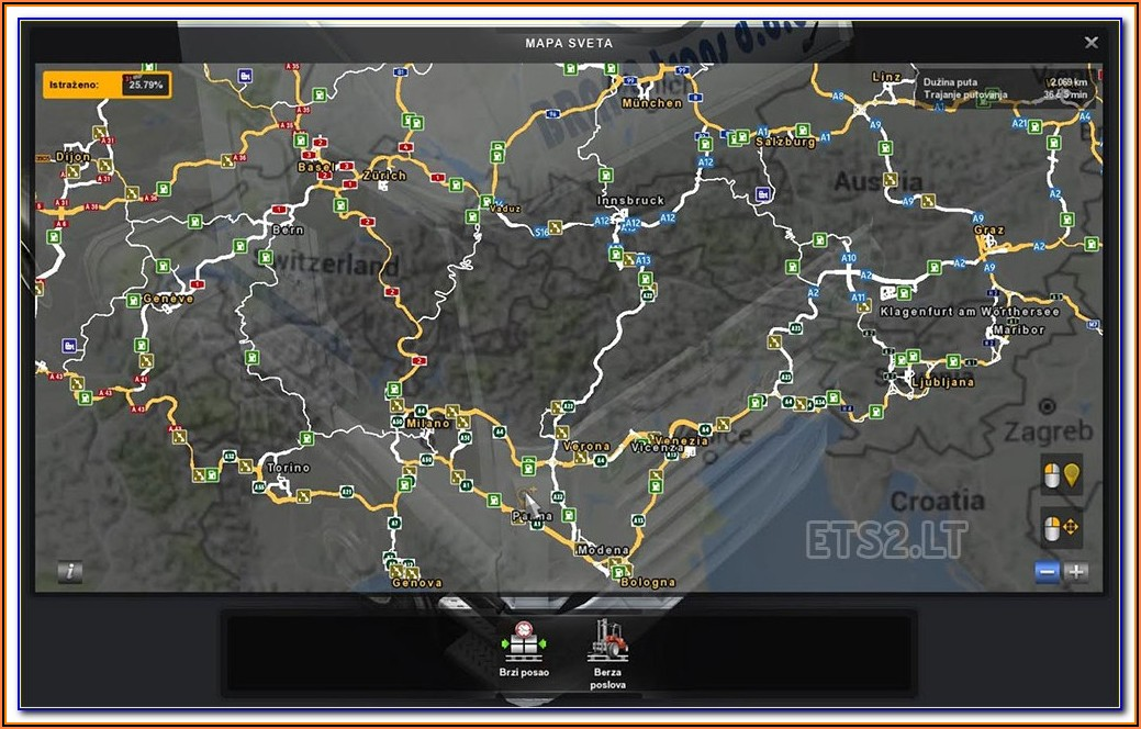 Google Map For Truckers