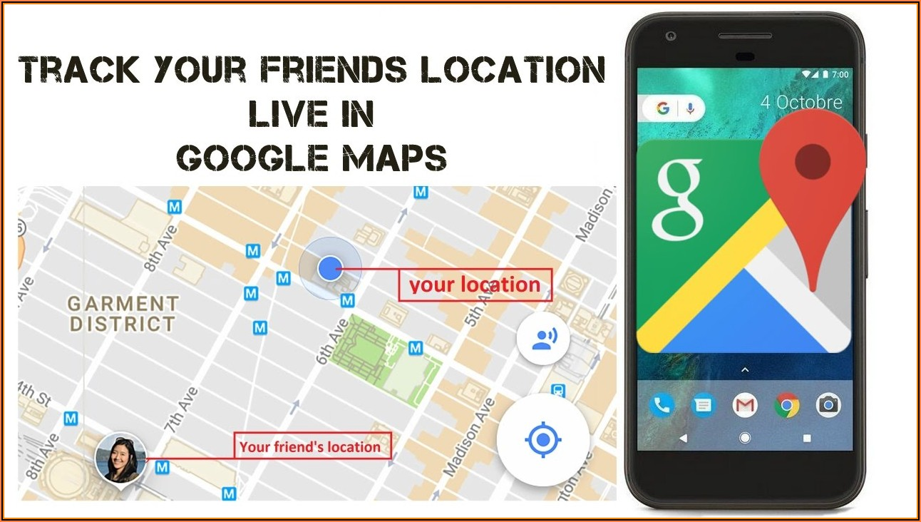 Google Maps Find Cell Phone Location