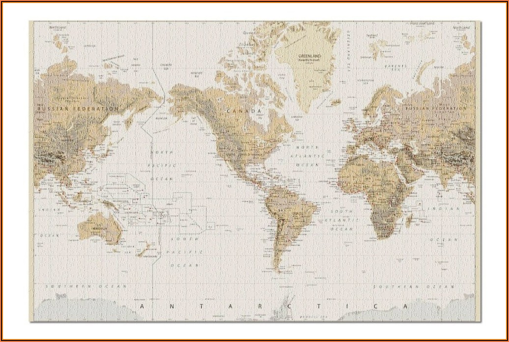 Grommet Custom Hometown Map Puzzle