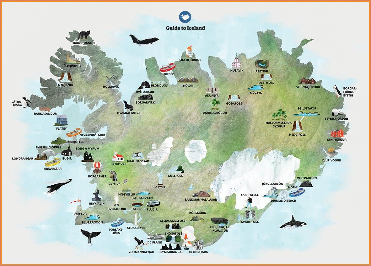 Iceland Road Maps
