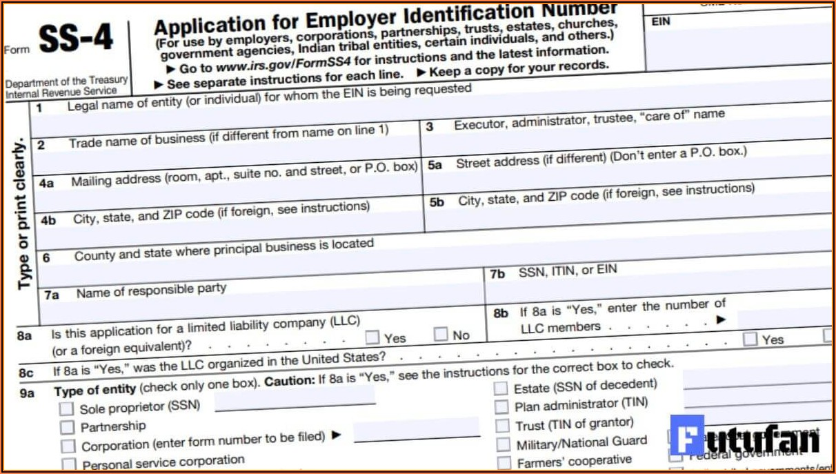 Irs Form Ss 4 Online Application