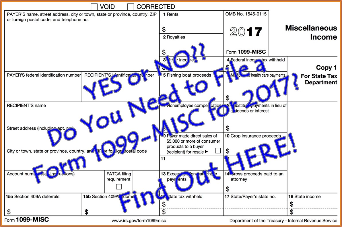 Irs.gov 1099 Forms 2018