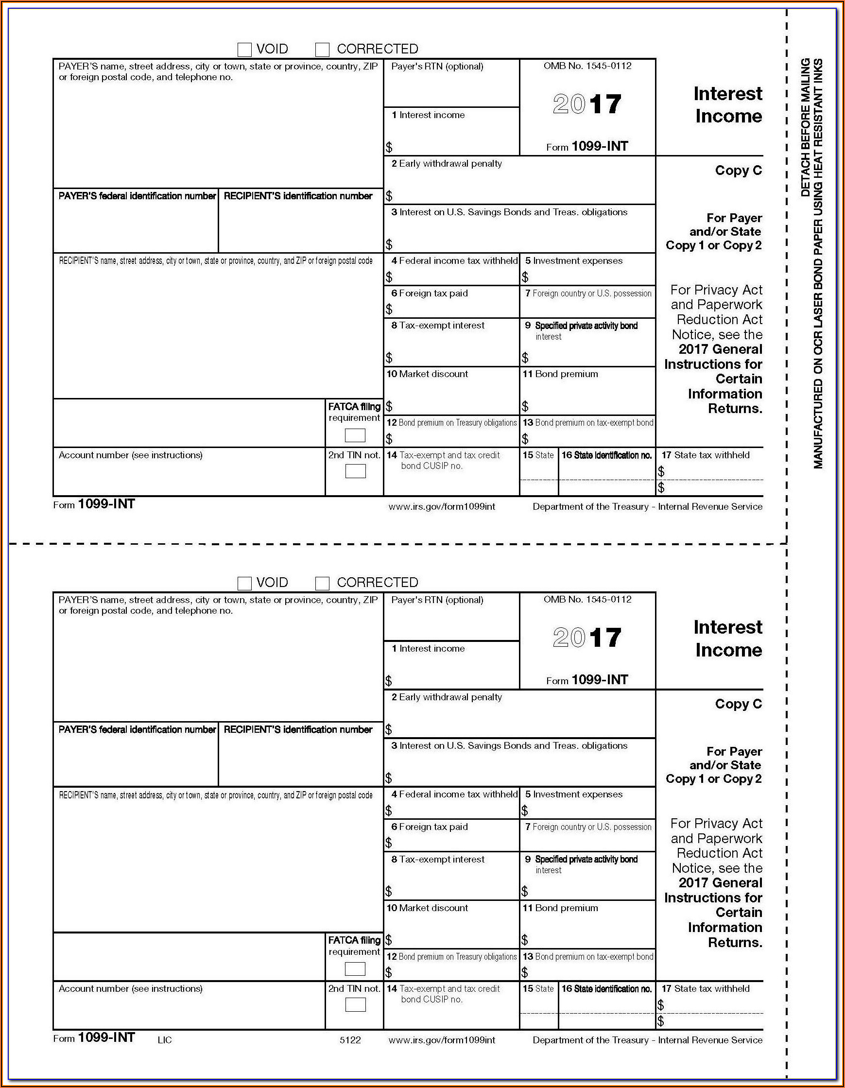 Irs.gov Forms 1099 Int