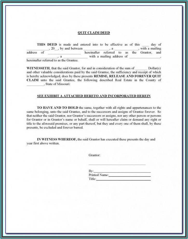 Jackson County Missouri Beneficiary Deed Form