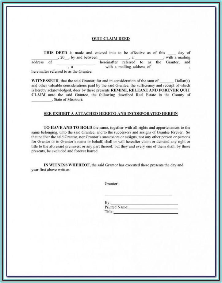 Jackson County Missouri Beneficiary Deed Form