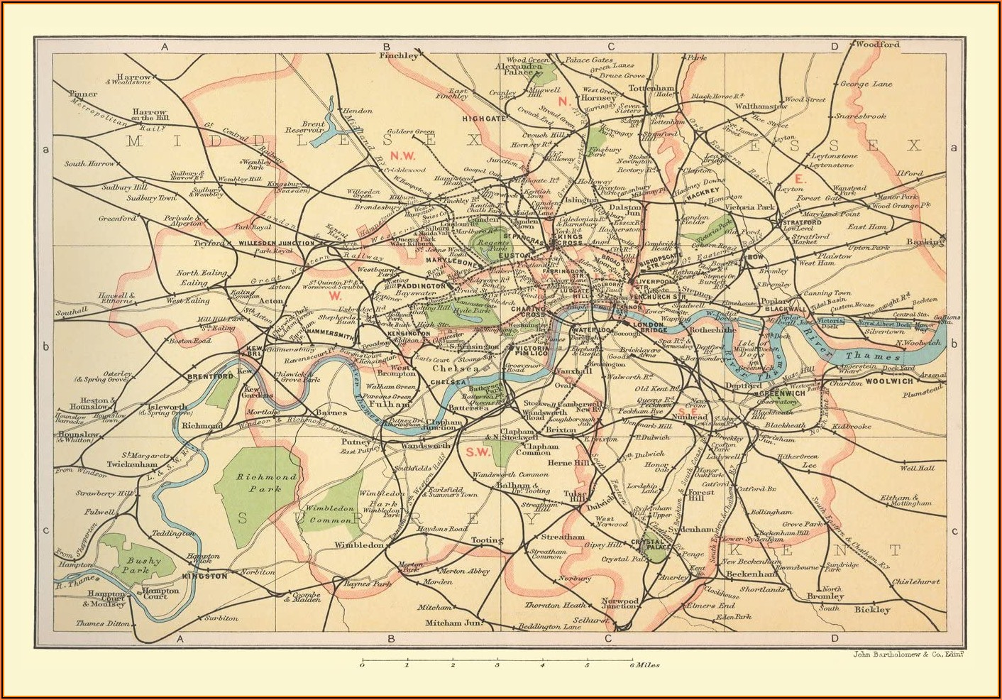 Jigsaw Puzzle Map Of London