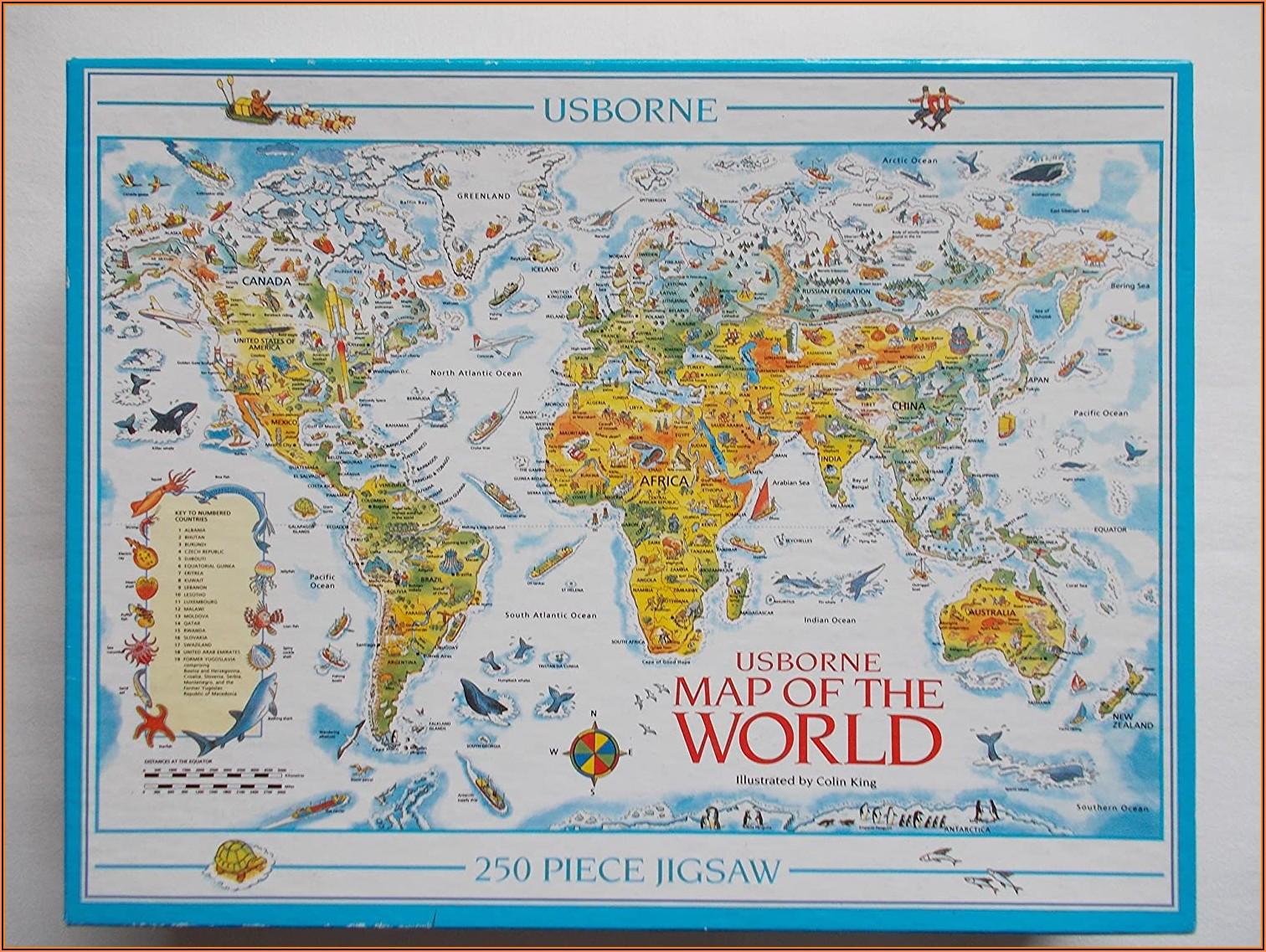 Jigsaw Puzzle Map Of Uk