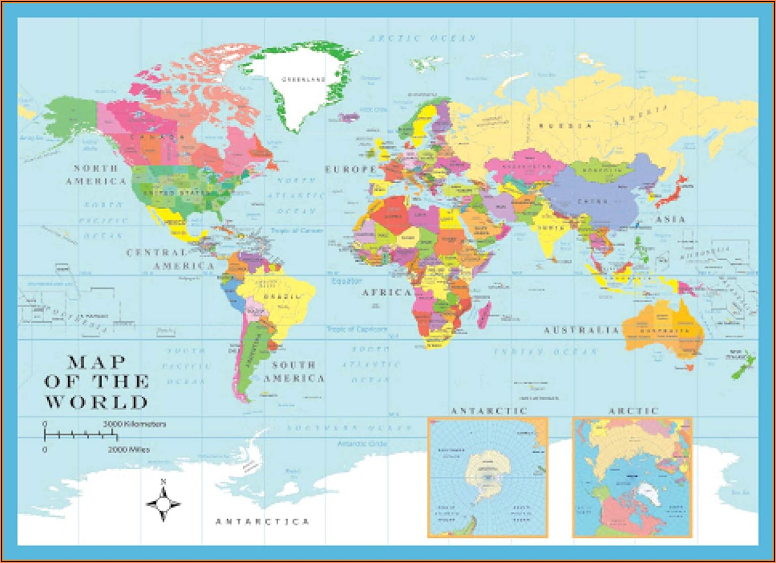 Jigsaw Puzzle Map