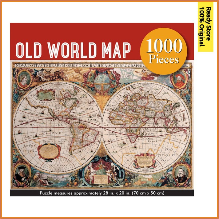 Jigsaw Puzzle World Map