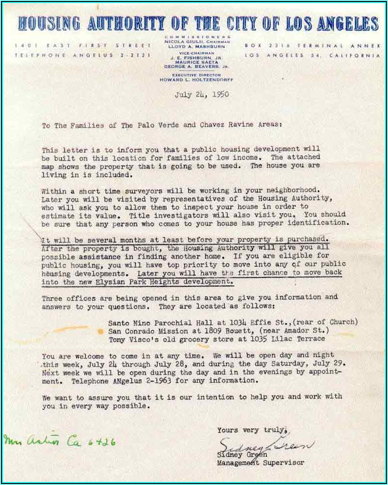 Los Angeles County Eviction Notice Form