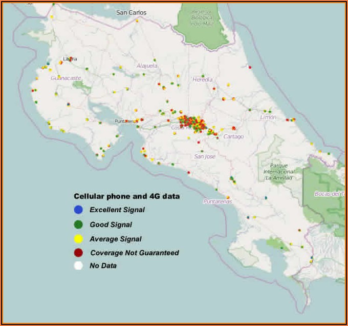 Map Of Cell Phone Coverage