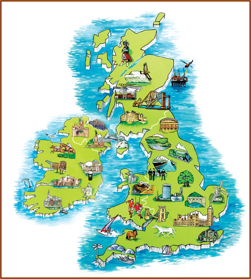 Map Of Golf Courses In Scotland Uk