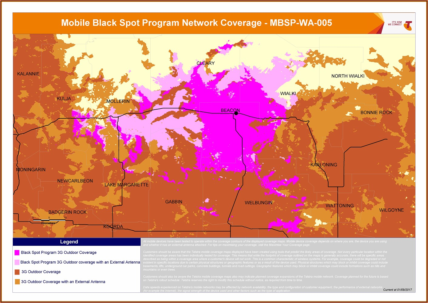 Maps Of Mobile Phone Coverage