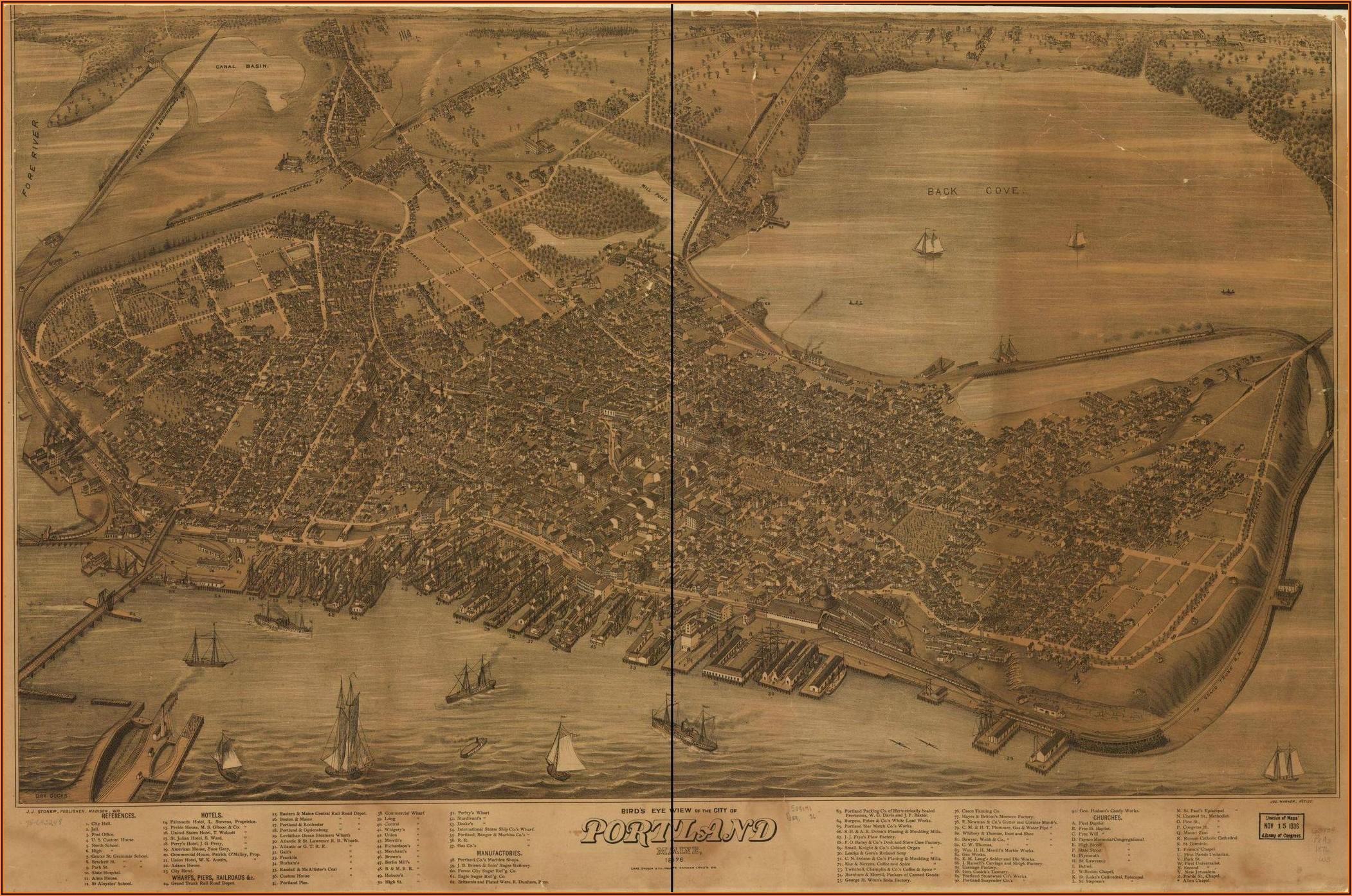 Maps Of Portland Maine