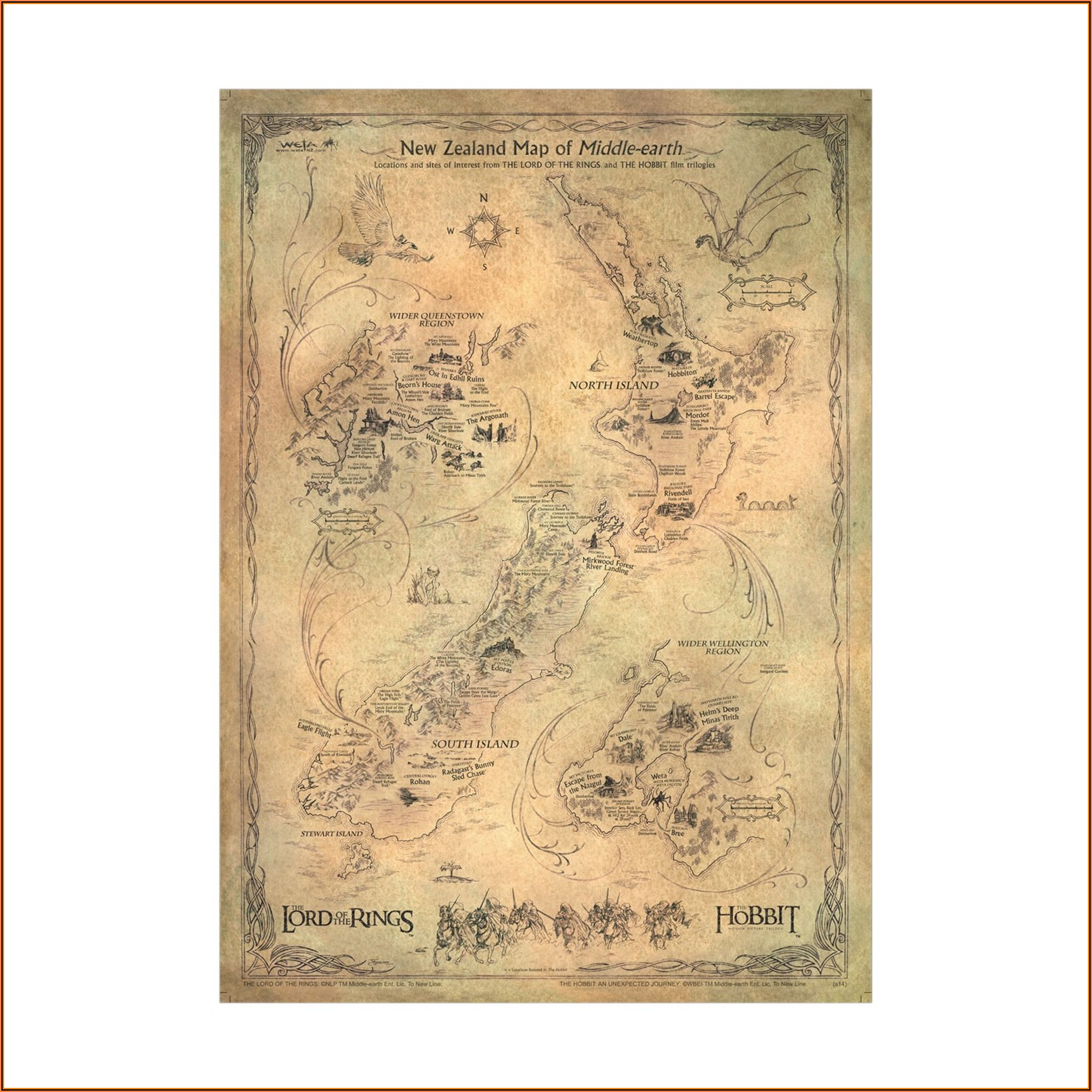 Middle Earth Maps.hobbit