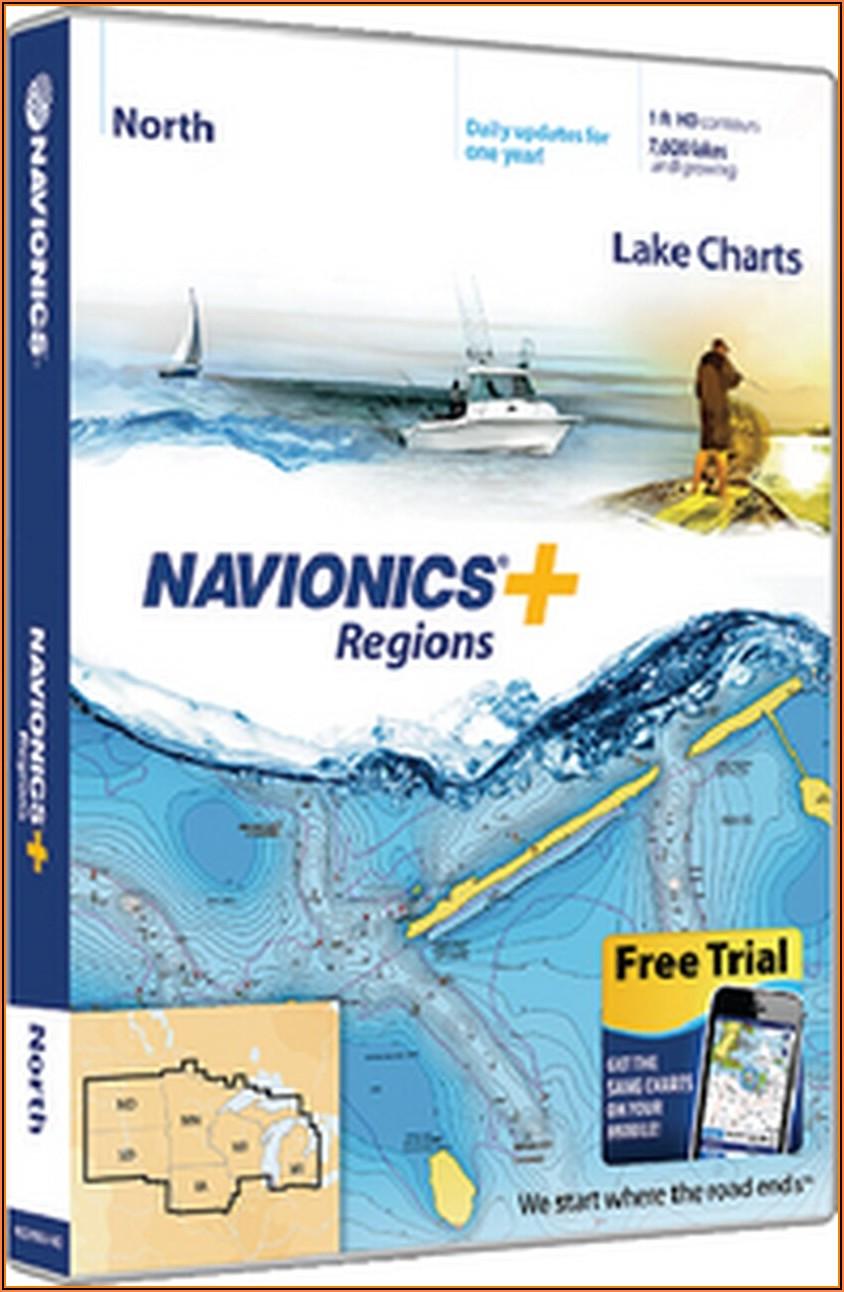 Navionics+ Canada Regions Marine Maps