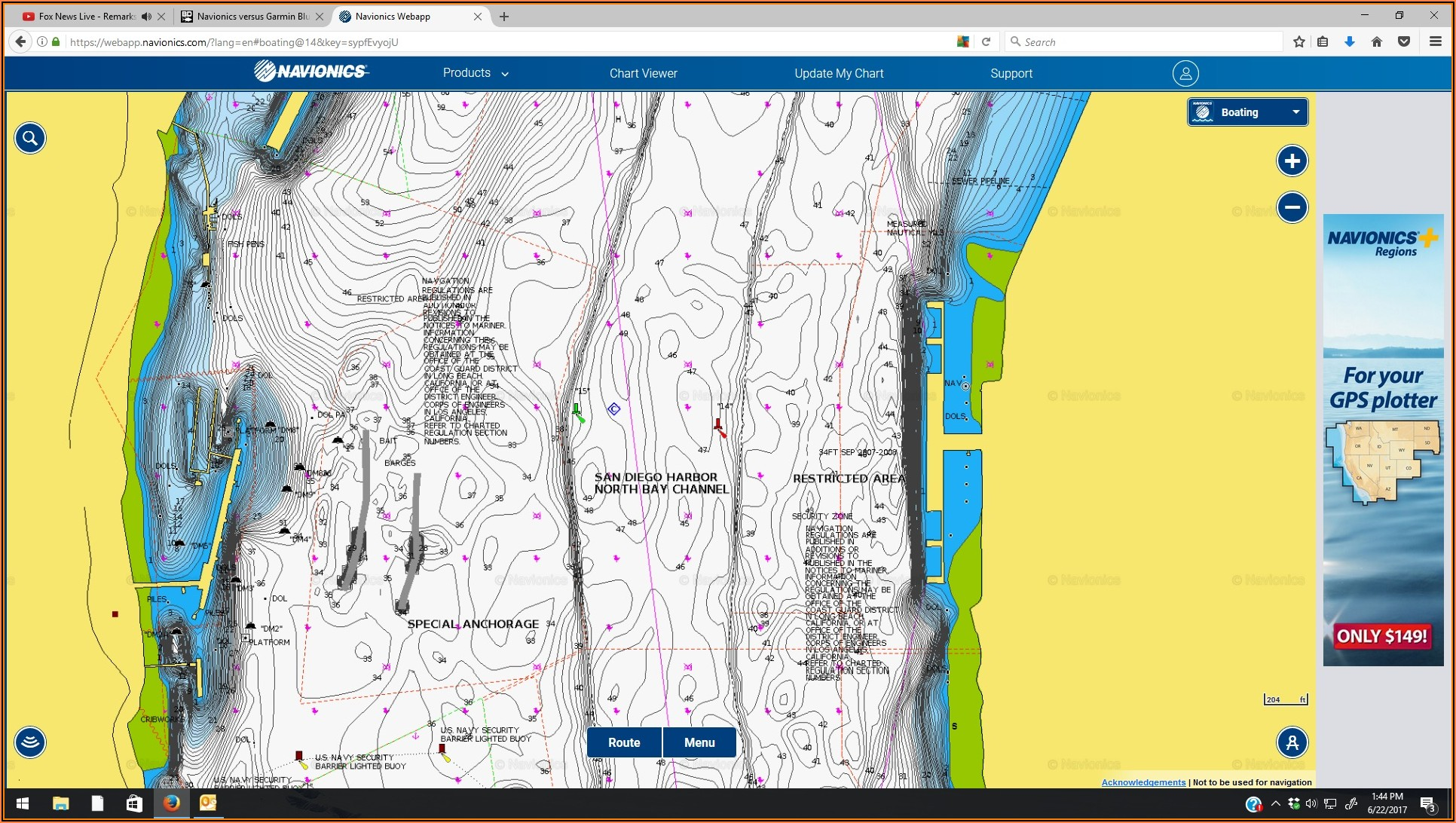 Navionics Chart For Garmin