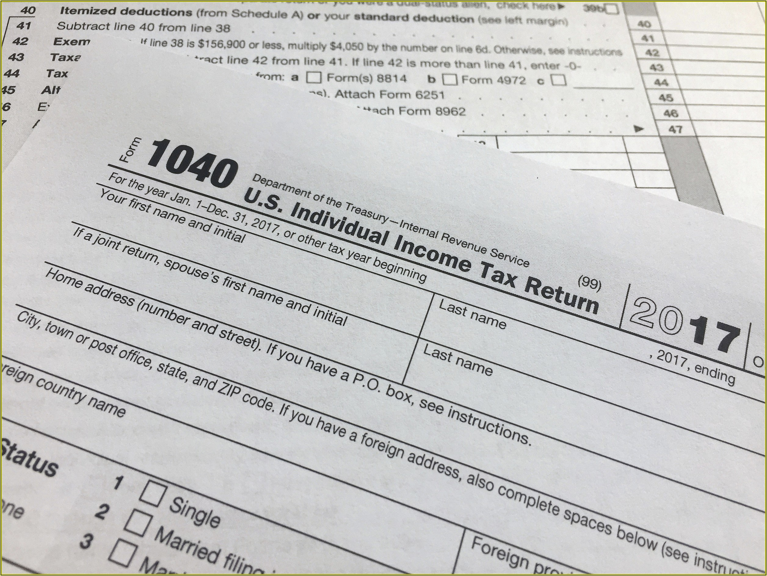 Nj Tax Form 1040 V