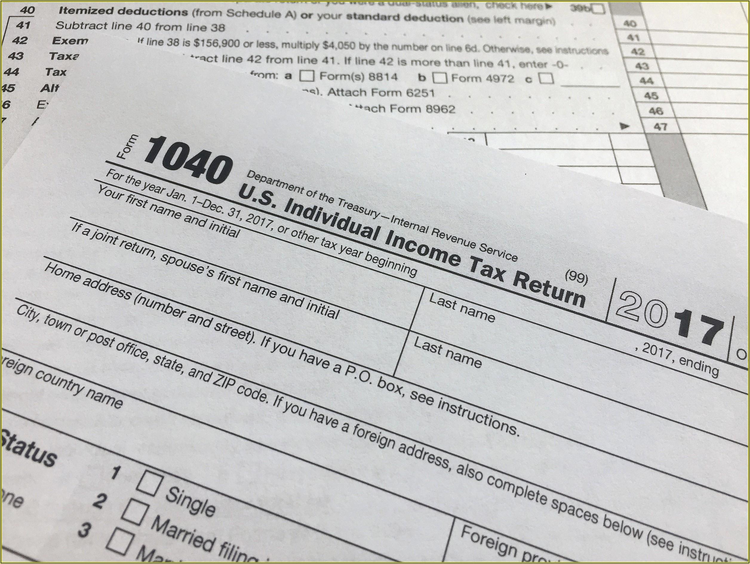 Nj Tax Form 1040 V