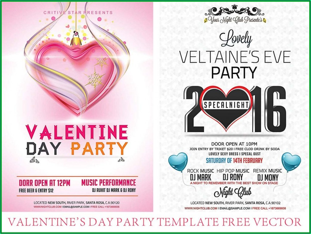 Party Flyer Templates Free Download