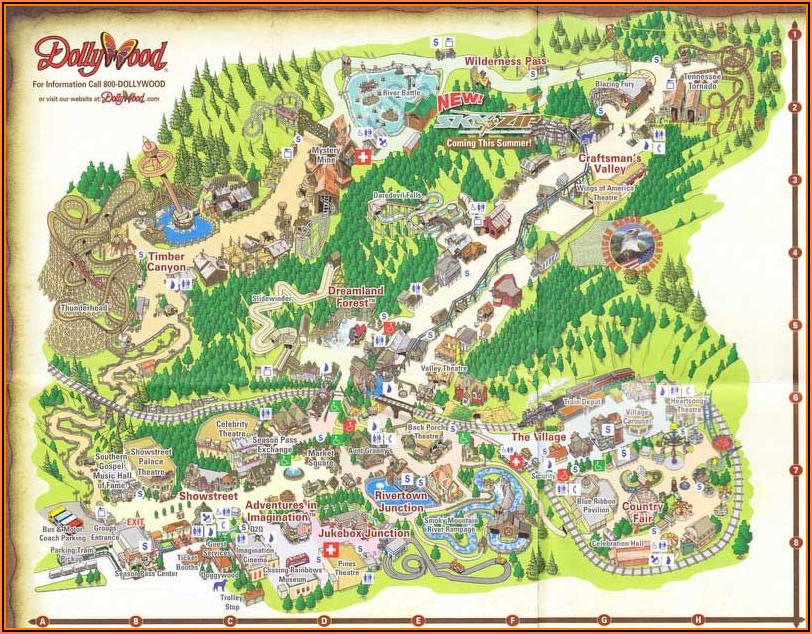 Pigeon Forge Tn Map
