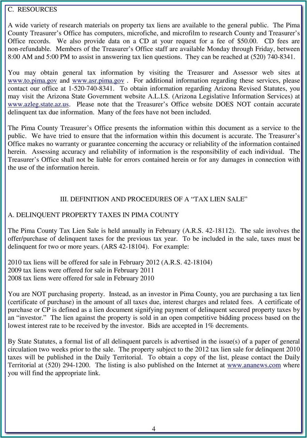 Pima County Az Divorce Forms