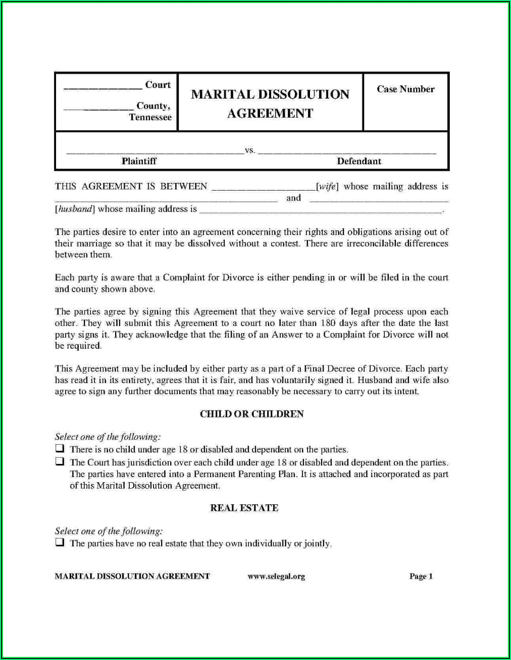 Postnuptial Agreement Template Free Uk
