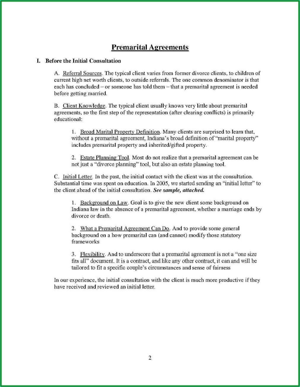 Postnuptial Agreement Template Free