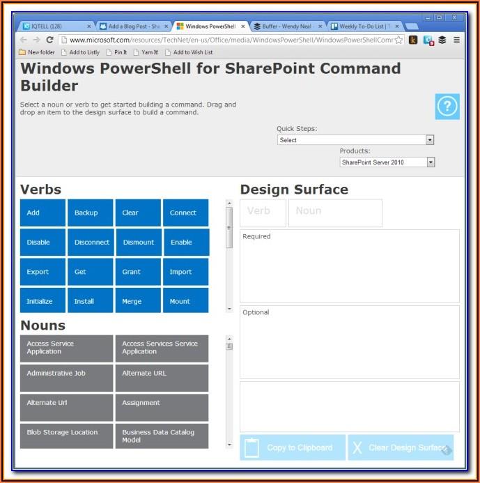 Powershell Form Builder Online