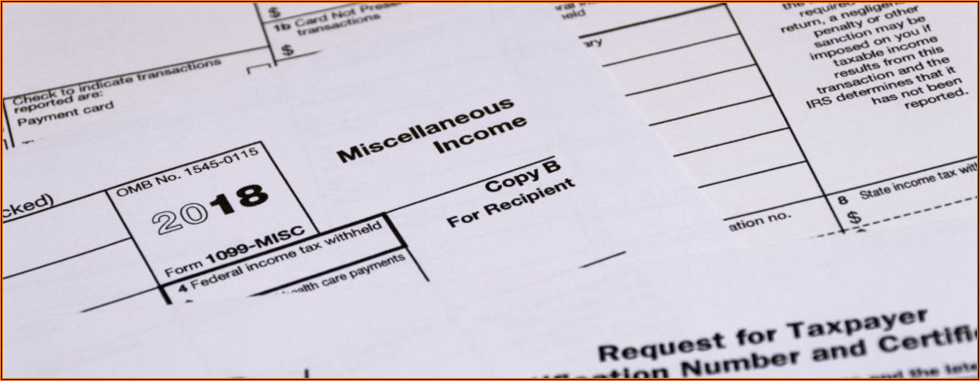Printable Form 1099 Misc 2019