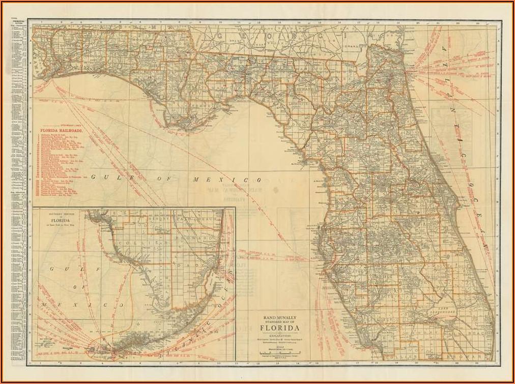 Rand Mcnally Florida Map