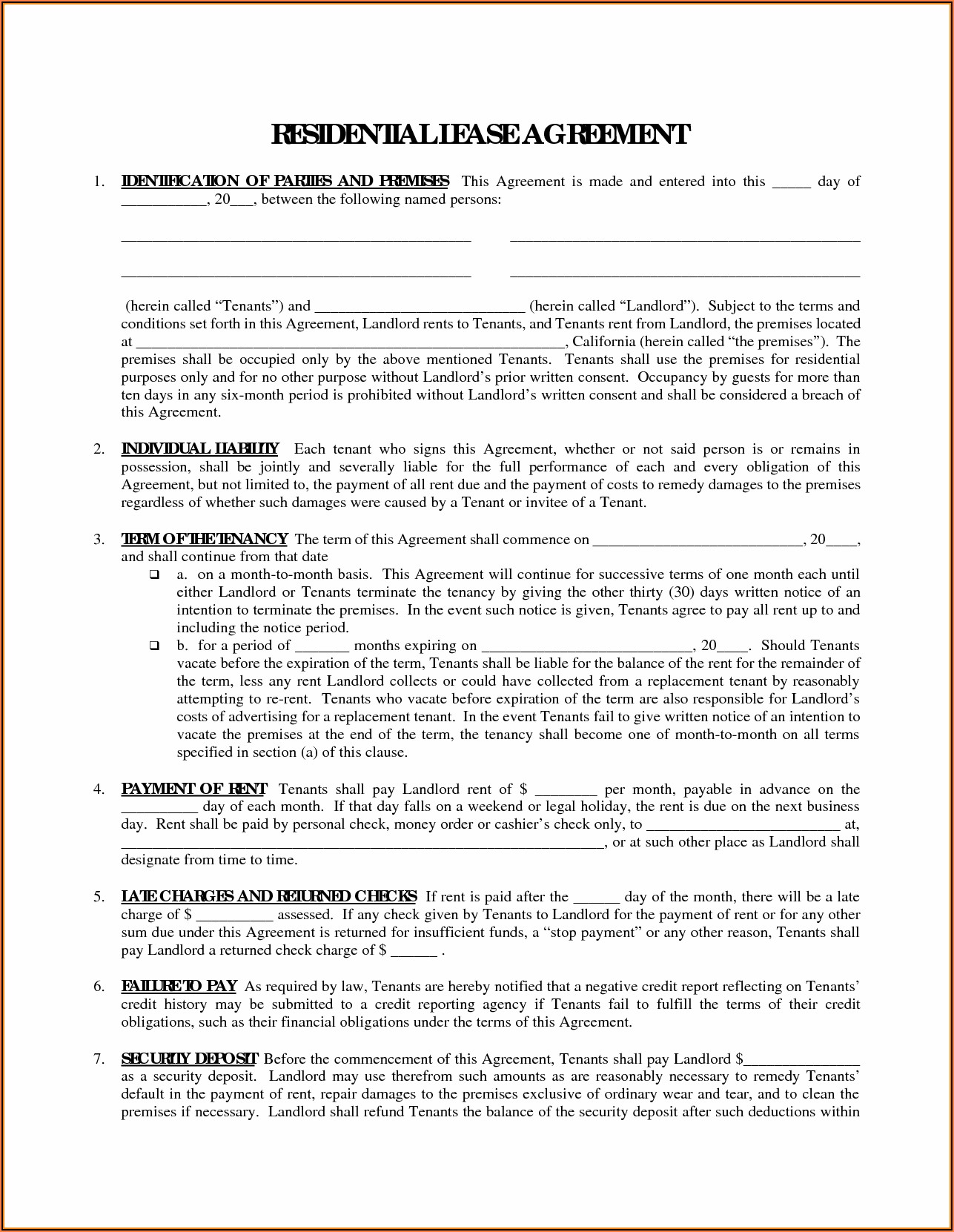 Real Estate Purchase Agreement Form Michigan
