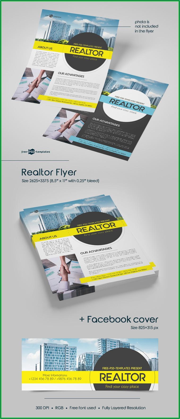 Realtor Flyer Templates Free