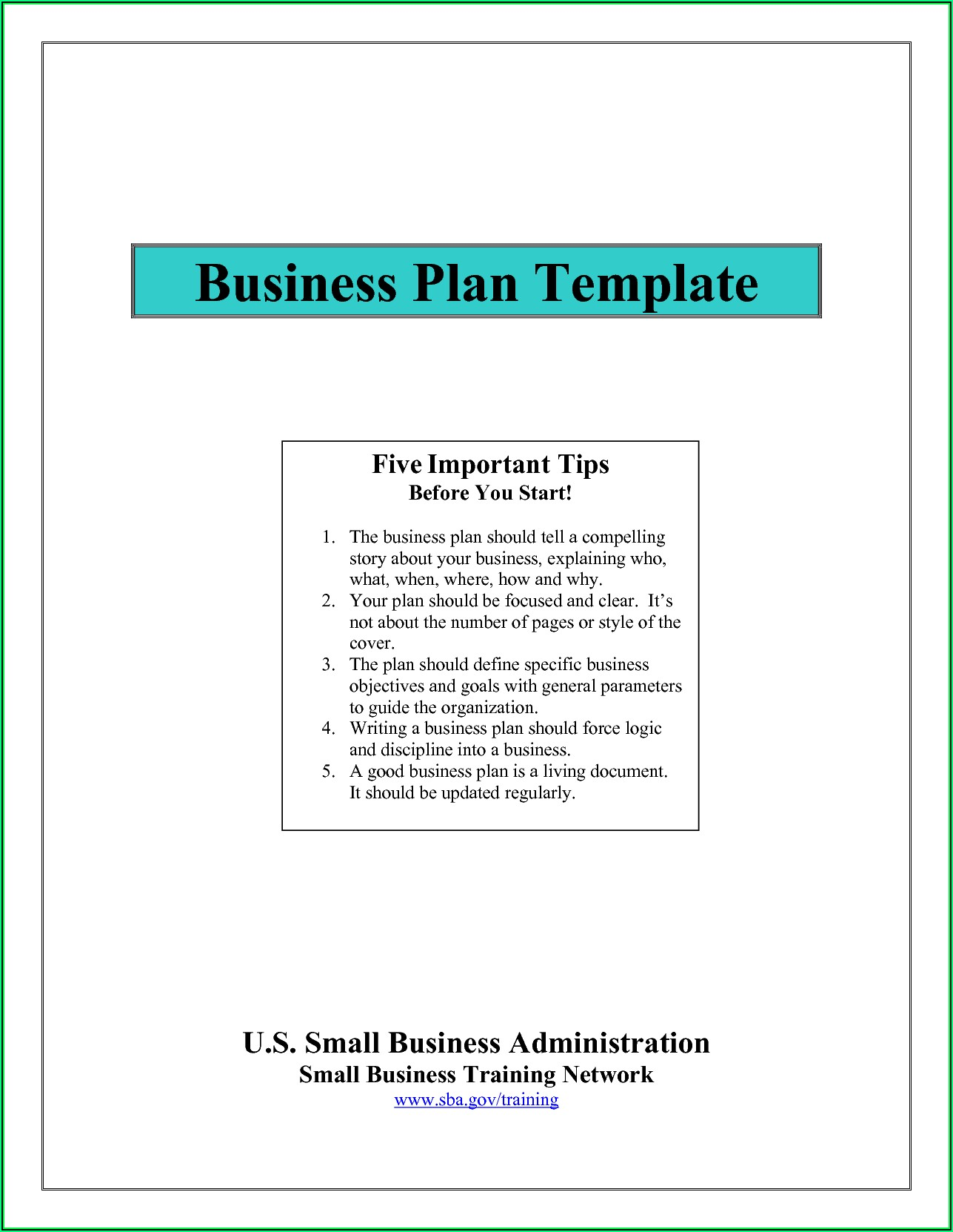Sample Nonprofit Marketing Plan Template