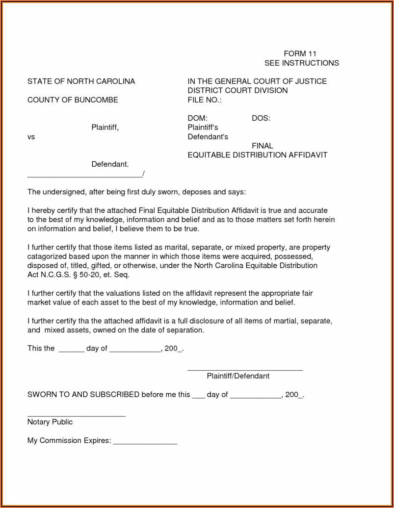 State Florida Small Estate Affidavit Form