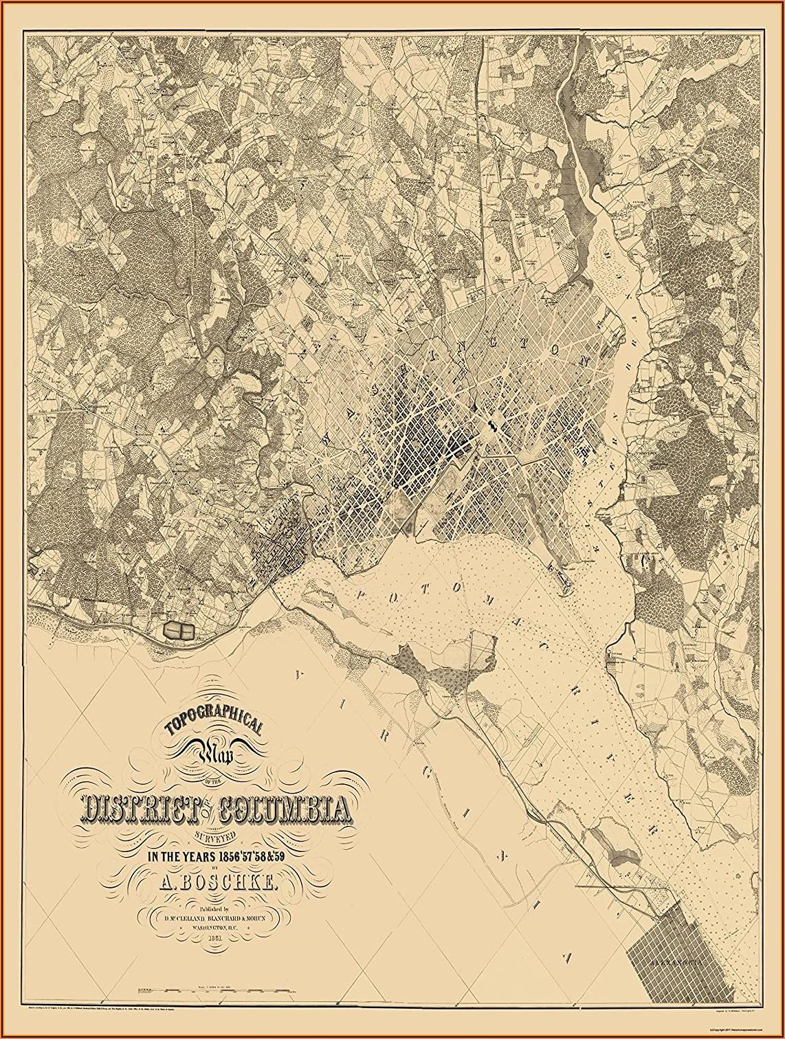 Topo Maps Maryland