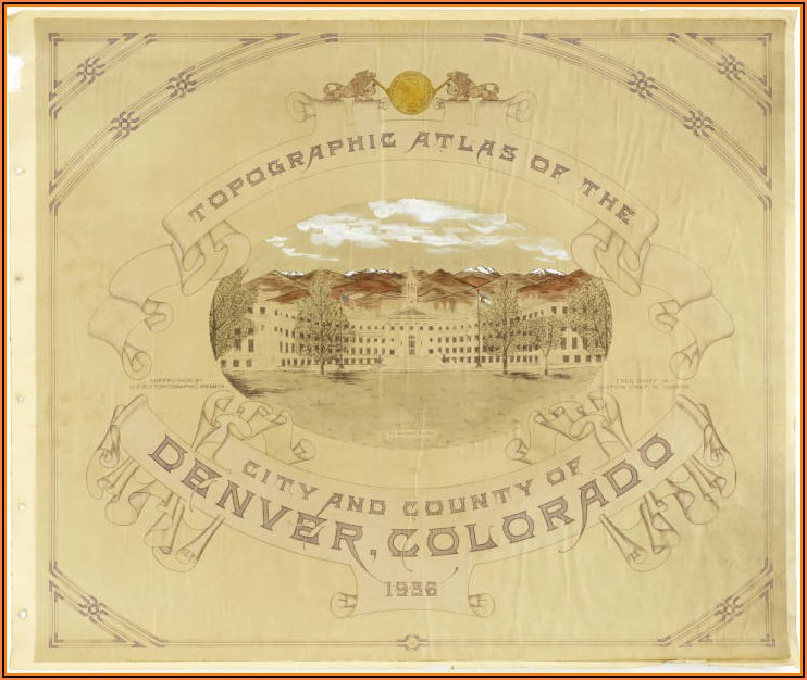 Topographic Maps Of Colorado