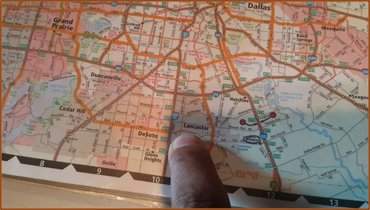 Truckers Map Book