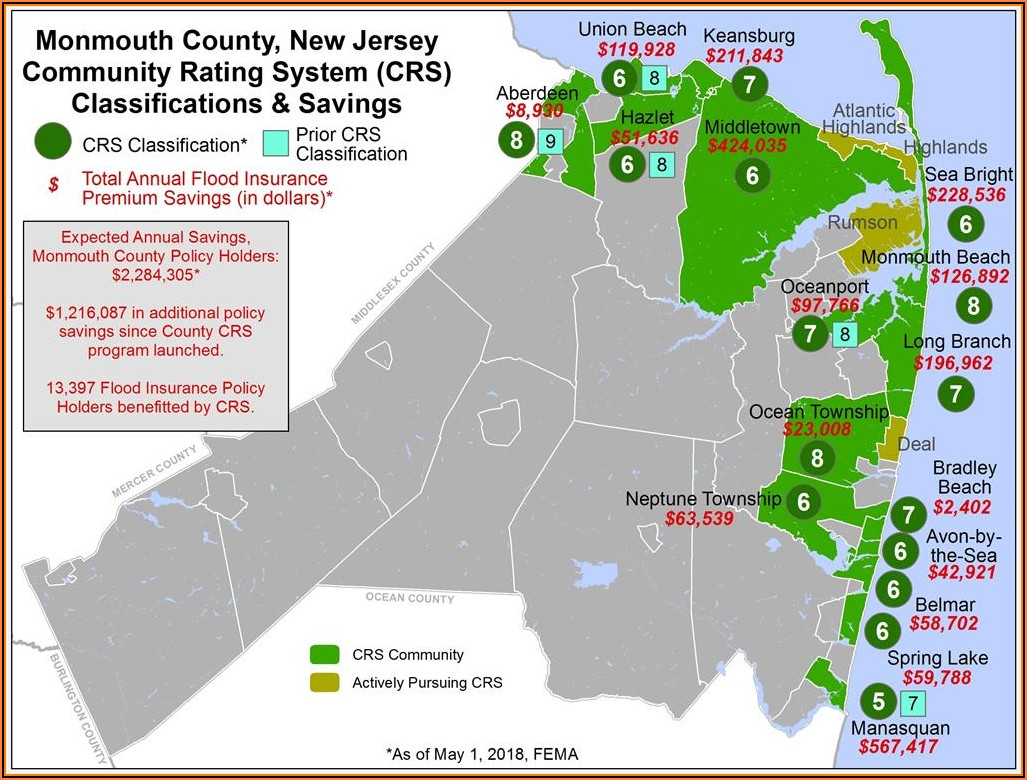 Union Beach Nj Flood Map