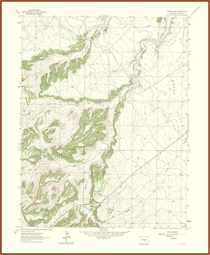 Usgs Topo Maps Of Colorado