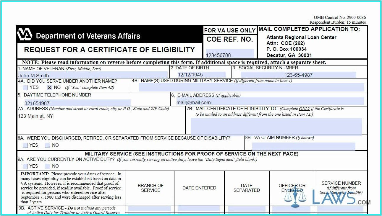 Va Form 26 1880 Online Submission