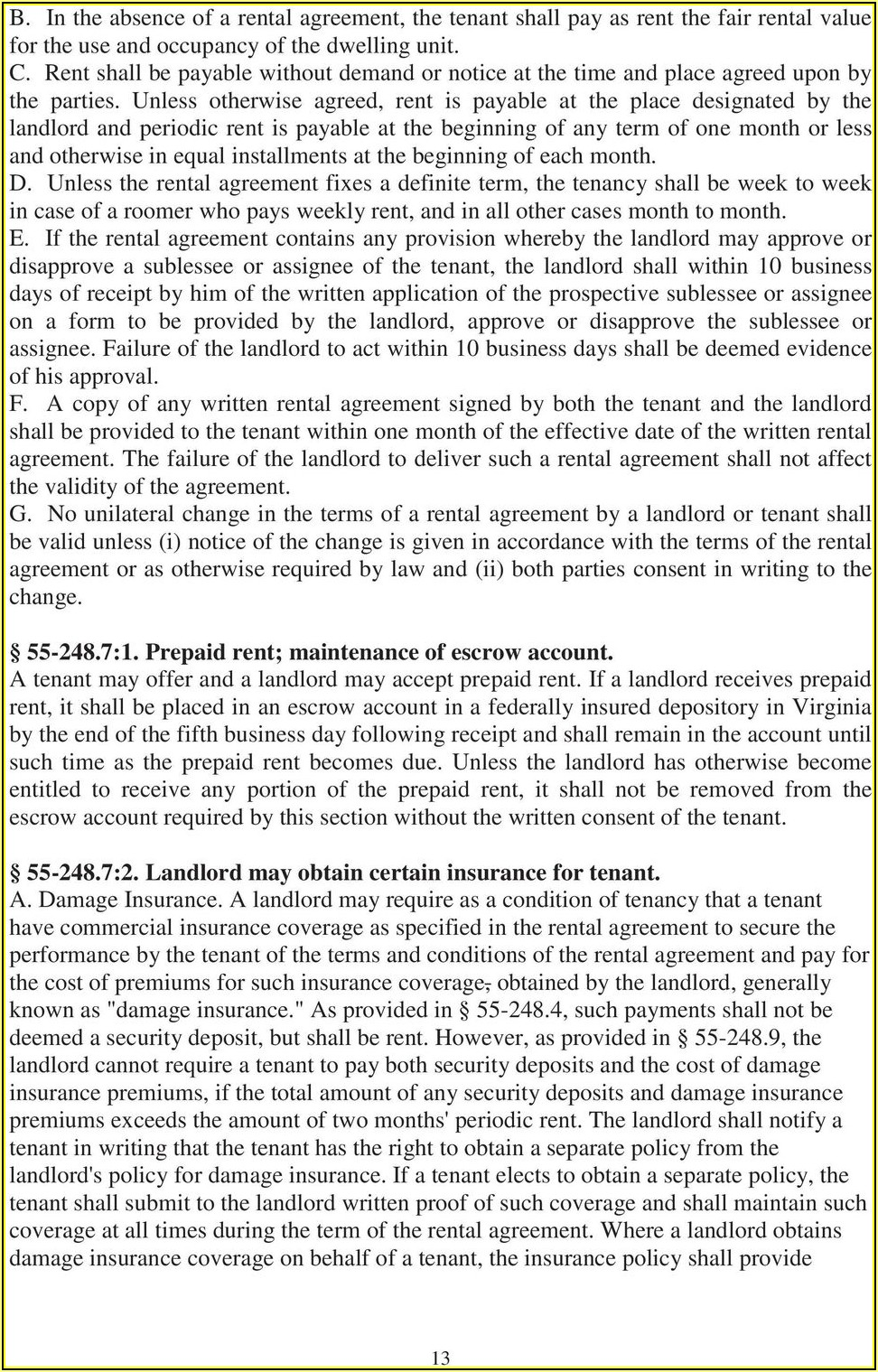 Vrlta Lease Agreement