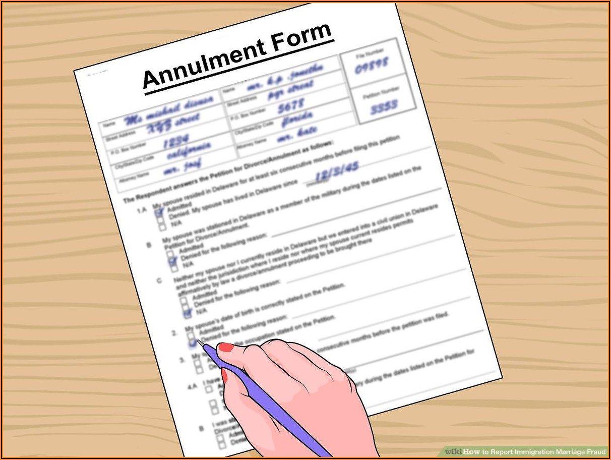 What Forms Do I Need To Fill Out For A Green Card Through Marriage